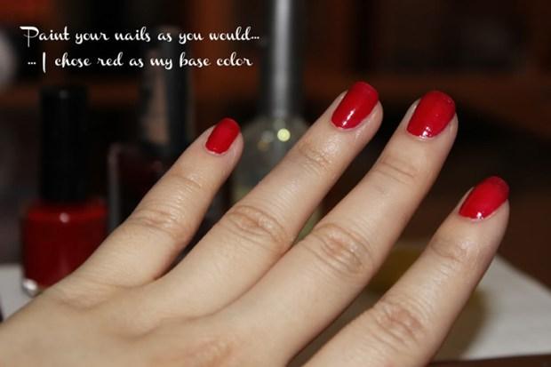 DIY Ombre Nails Manicure