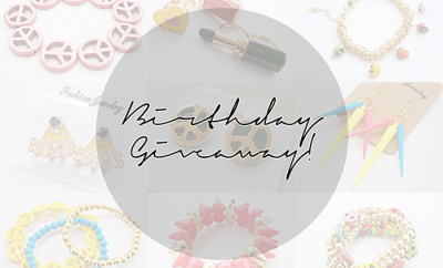 Mini Birthday Giveaway