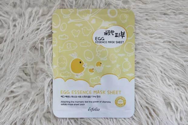 Esfolio Egg Essence Mask