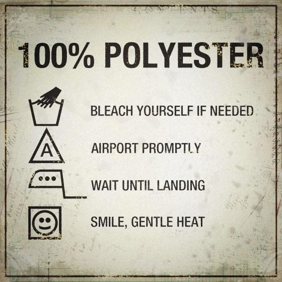 100 polyester