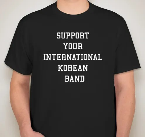 support your international korean band