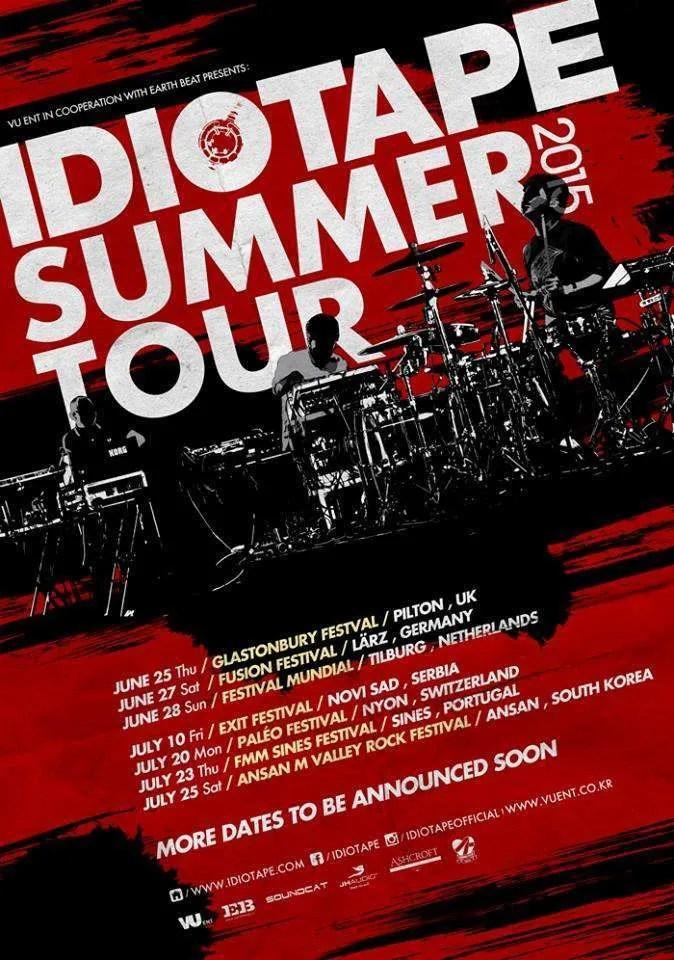 idiotape europe june tour