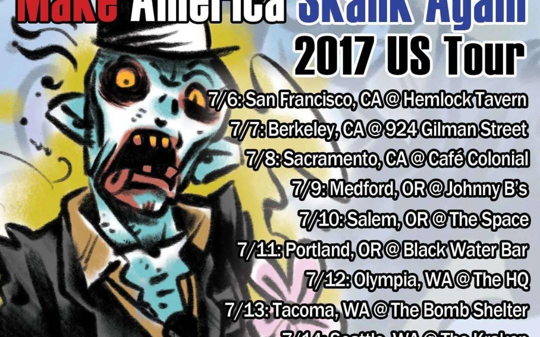 SkaSucks Make America Skank Again 2017 US Tour Starts July 6, 2017