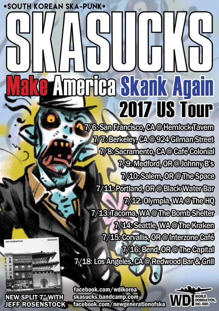 skasucks make america skank again
