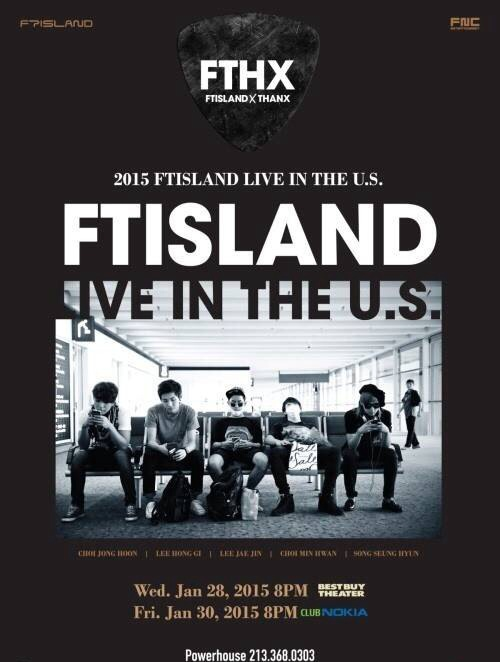FTISLAND in LOS ANGELES