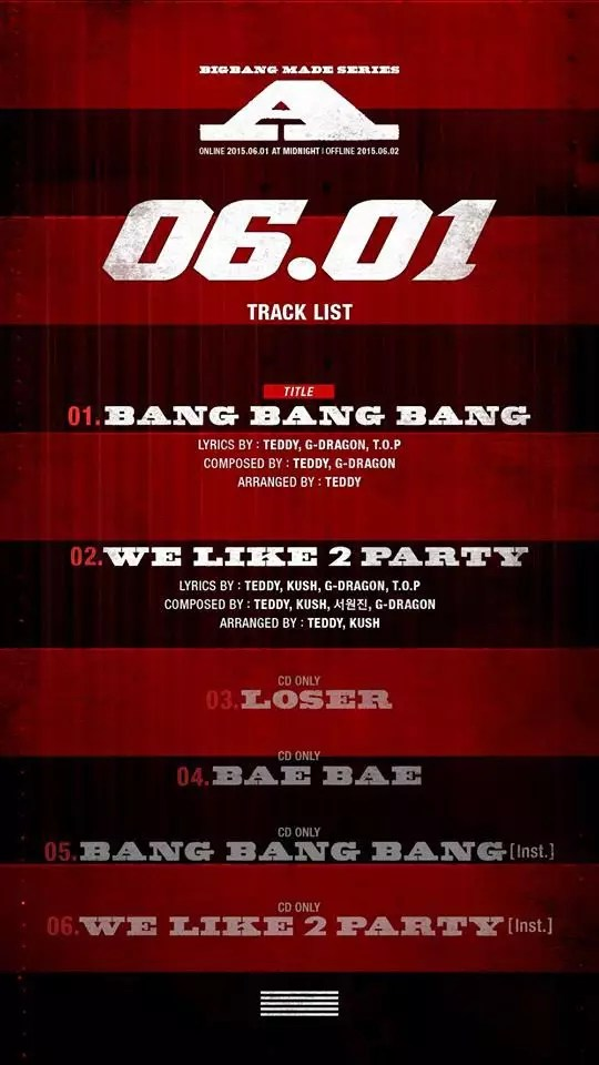 bigbang-tracklist