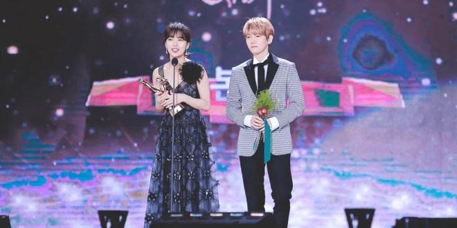 """Suzy و Baekhyun يقدّما عرضا تفاعليّا رائعا في حفل توزيع جوائز """"The Golden Disc"""""""