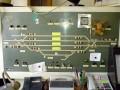 Kolejová deska v dopravní kanceláři