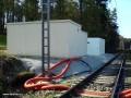 Kontejnery s dopravní kanceláří a technologií