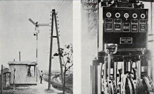 Zabezpečování jízdy vlaků v roce 1912