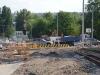 nový Trojský most, tramvajová trať