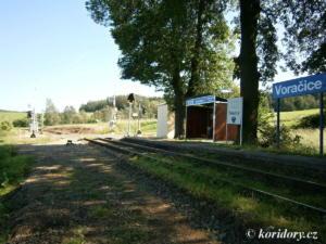 Olbramovice - Sedlčany, opravné práce, km 6,2 - 5,5