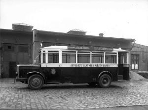 Autobus Skoda 506, zde ve verzi N pro DP hl.m.Prahy