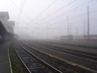 Mlhavé ráno v Čerčanech