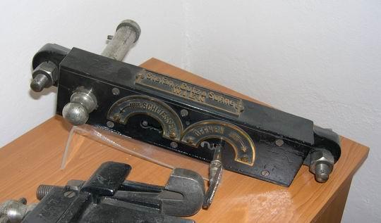 Výměnový zámek ve své nejstarší podobě © archív ŽSR - MDC