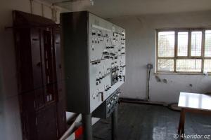 Služební místnost výhybny Čekanice