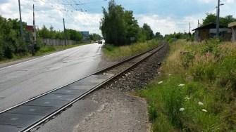 Přesmyk Domažlické trati - Domažlická ulice