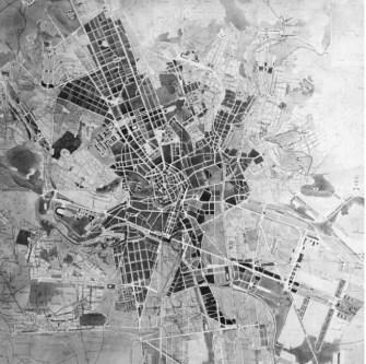 Soutěž na generální zastavovací plán Velkého Brna, Jindřich Kumpošt, projektRozvoj, 1927