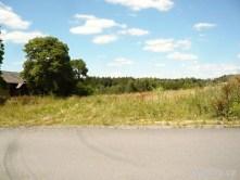 Chotoviny - zasypaný zářez původní trati - pohled směr Sudoměřice u Tábora.