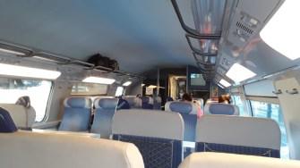 Cesta Basilej - Marseille TGV Interier 2. třídy (Autor: Luboš Sládek, koridory.cz)