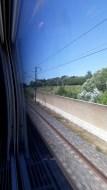 Cesta Basilej - Marseille TGV Protihluková stěna (Autor: Luboš Sládek, koridory.cz)