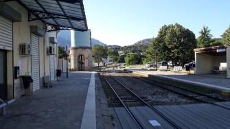 Korsika Bastia - Corte Nádraží (Autor: Luboš Sládek, koridory.cz)