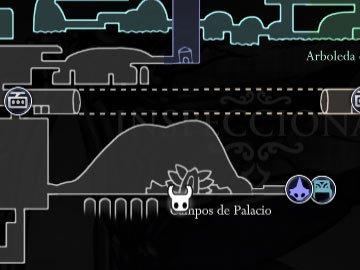 Hollow Knight Localización Palacio Blanco