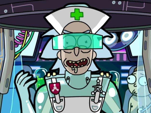 Rick Cirujano Pocket Mortys