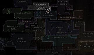 Mapa de Hollow Knight