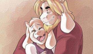 Toriel y Asgore