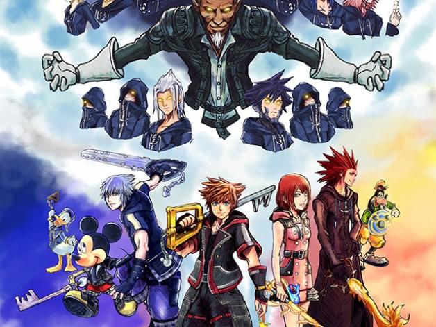 Primeras Elecciones de Kingdom Hearts 3