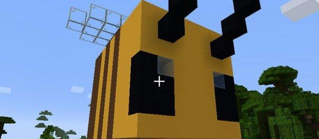 Casa de Abeja en Minecraft