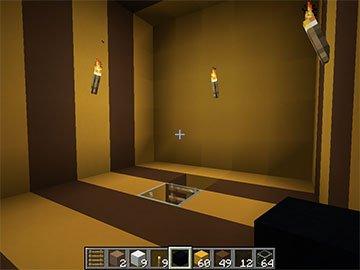 Interior de la Casa Abeja