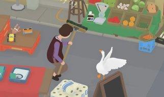Tareas del Chico con Gafas y la Tendera en Untitled Goose Game