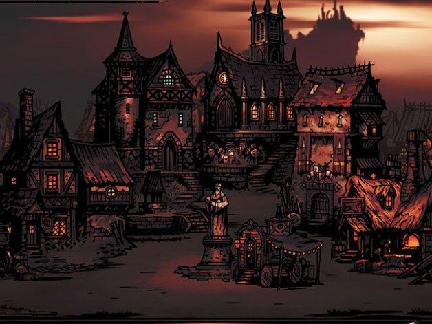 Edificios del Feudo de Darkest Dungeon