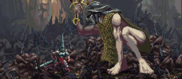 Guardián del Lamento Mudo en Blasphemous