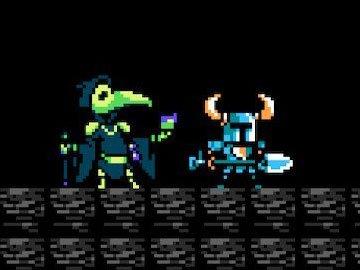 Plague Knight en a Shovel of Hope