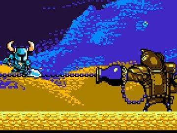 Treasure Knight en Shovel of Hope