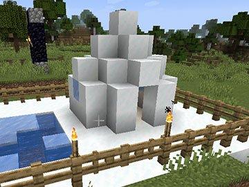 Casa del Oso Polar en Minecraft