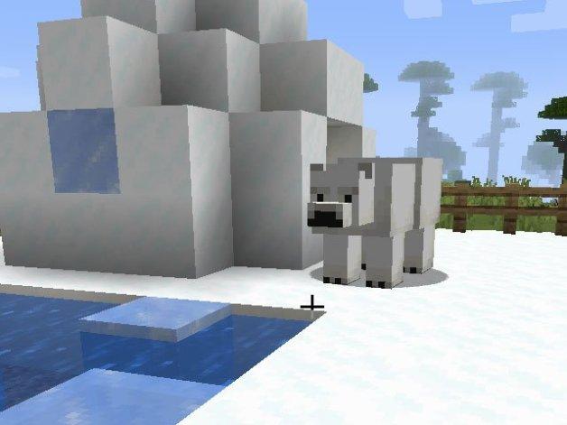 Cómo Domesticar a un Oso Polar en Minecraft