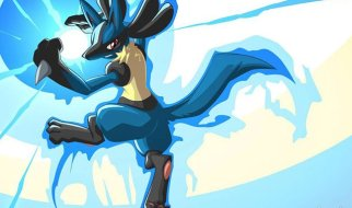 Lucario en Pokémon