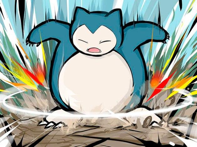 Snorlax en Pokémon