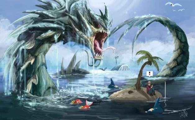 Gyarados en Pokémon