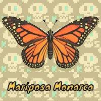 Mariposa Monarca en Animal Crossing New Horizons