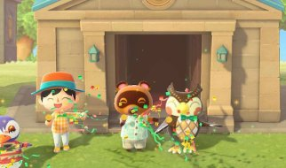 Museo de Sócrates en Animal Crossing New Horizons