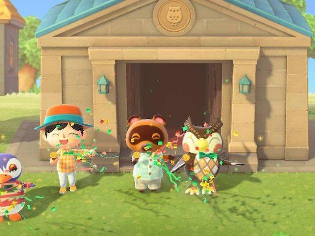 Museo de Sócrates en Animal Crossing New Horizons