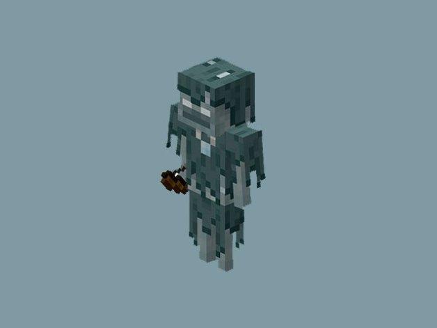 Stray (Esqueleto Glacial o Errante) en Minecraft