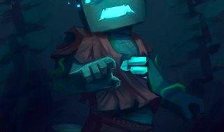 Ahogado o Drowned en Minecraft