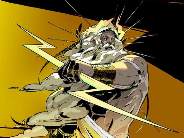 Zeus en Hades