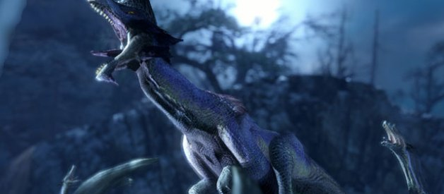Gran Baggi en Monster Hunter Rise